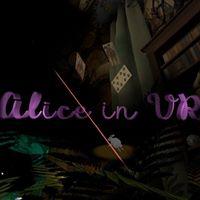 alice in VR affisch